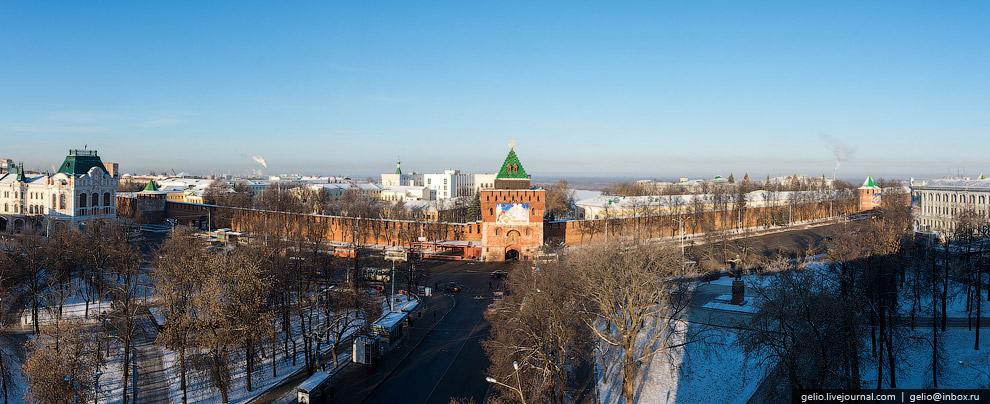 Площадь Минина и Пожарского — центральная площадь города