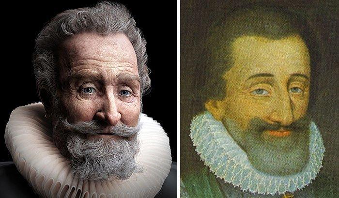 1. Генрих IV, король Франции воссоздание, известные люди, история, лицо, люди прошлого, облик, реконструкции, реконструкция